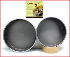 "2 PAN - Calphalon NONSTICK Heavy Gauge 9"" & 10"" Diameter SPRINGFORM PANS 🌟NEW🌟"