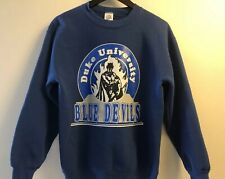 Vintage Duke University Blue Devils Sweatshirt, Sz Medium, 90s, Crewneck