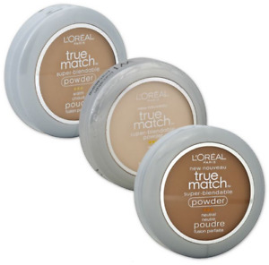 LOREAL TRUE MATCH SUPER BLENDABLE FACE POWDER **CHOOSE TYPE**