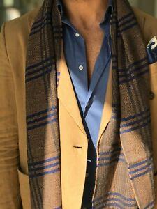 kiton wool scarf