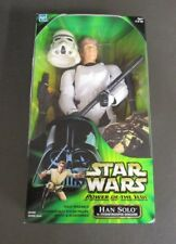 "Han Solo Stormtrooper 12"" 2001 STAR WARS Power of the Jedi POTJ 1/6 Scale"