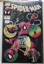 Spider-Man Limited Edition Big Button Set Marvel 1991 L@@K