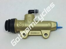 OEM Ducati Brembo 11mm Straight Gold Rear Brake Caliper Master Cylinder Pump