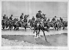 PLUM PUDDING SLATIN PASHA AND HIS PERFORMING HORSE FREDERIC REMINGTON
