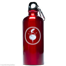 Fly Fishing Water Bottle Leland Sonoma Ranch 20oz Aluminum Jumping Trout
