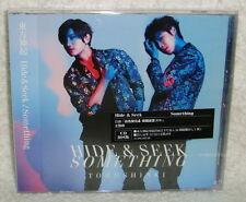 TOHOSHINKI Hide & Seek / Something 2014 Taiwan Ltd CD+12P+Card (DBSK TVXQ)