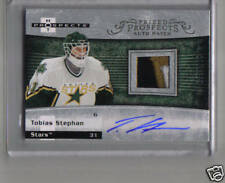 07/08 FLEER HOT PROSPECTS AUTO PATCH TOBIAS STEPHAN 399