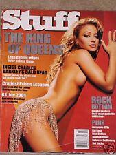 Magazine STUFF February 2002 LEAH REMINI Jacqueline Obradors Victoria Pratt HOT