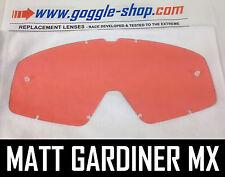 Goggle-Shop Lente di Ricambio per Fox Main Motocross Mx Occhiali Rosa Colore Pro