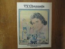 April 27-1975 Washington Post TV Mag(LITTLE HOUSE ON THE PRAIRIE/MICHAEL LANDON)