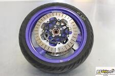 96-03 Kawasaki Ninja Zx7r Front Wheel Rim W Tire Rotors Zx 7 97 1997 98 99 00 01