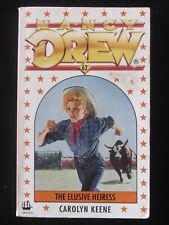 NANCY DREW #62 THE ELUSIVE HEIRESS by CAROLYN KEENE 1990 SC VGC