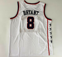Throwback Bryant #8 McDonalds All American Basketball Jerseys Stitched Kobe