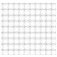 vidaXL Gittermatte Streckmetall Wellengitter Edelstahl 50�—50cm mehrere Auswahl