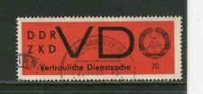 DDR Dienstmarken ZKD Mi D 3 x gestempelt Wolmirstedt 25.11.66
