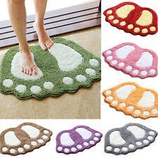 Dusche Bodenmatte saugfähiger Weicher Badezimmer Teppich Nicht Rutsch Matte