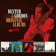 5 Original Albums - Dexter Gordon (2016, CD NIEUW)