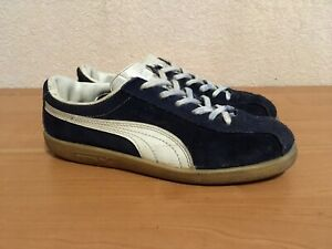 Vintage Puma Blue Star 80s Size 5 Made in Italy
