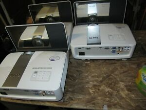 3  X  BENQ MW851UST  PROJECTORS -POWERS UP