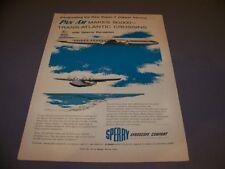 """VINTAGE..1955 PAN AM """"CHINA CLIPPER"""" ..ORIGINAL COLOR SALES AD...RARE! (775L)"""