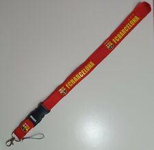 FC Barcelona Red Lanyard Neck Strap Keyring Pass Mobile
