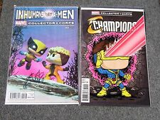 2 Marvel Collector Corps X-Men Wolverine Champions Comic Book Covers