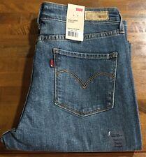 LEVI'S CURVE ID DEMI CURVE Straight Leg Jeans - Women's 10 Medium NWT
