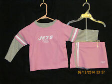 Reebok NY Jets Pink Size 2T Official NFL Product Brand New With Tags