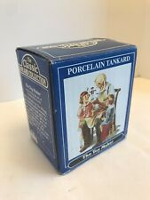 Vintage 1986 Norman Rockwell Porcelain Tankard The Toy Maker Norman R Museum
