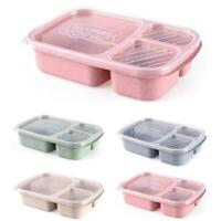 Microwave Bento Lunch Box Picnic Food Fruit Container Storage Box Adults