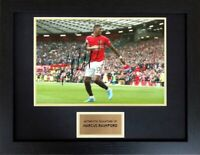 Marcus Rashford Manchester United Framed Autograph Signed Photo Display COA