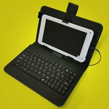 "New 7"" Android Tablet & keyboard Case Bundle - Android 8.1 - Bluetooth WiFi"