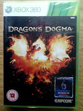 XBox 360 Game - Dragon's Dogma - NEW & ORIGINAL FACTORY SEALED.