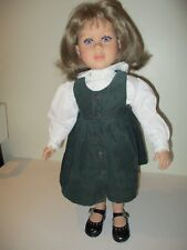 "My Twinn 23"" doll DENVER 1996 HEAD, 1997 WHITE Body BROWN Hair VIOLET-BLUE Eyes"