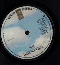 "Jackson Browne(7"" Vinyl)Stay / Rosie-Asylum-K 13128-UK-1977-VG/VG"