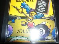 100% Hits Volume 8 Various CD Ft The Sharp Boy George Boom Crash Opera & More