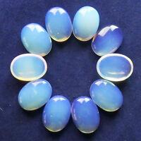 10Pcs Opal Opalite Oval CAB CABOCHON 20x15x5mm H-281