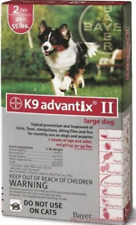 Bayer K9 Advantix II 21-55 lbs lg dog two pack EPA product No expiration