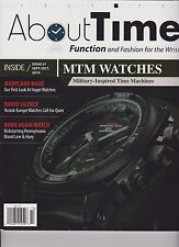 ABOUT TIME MAGAZINE #7 SEPT/OCT 2014, FUNCTION AND FASHION FOR THE WRIST.