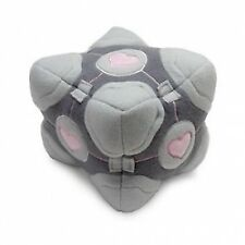 "Valve Portal 2 Video Game Toy 6"" Weighted Companion Cube Plush Soft Square Doll"