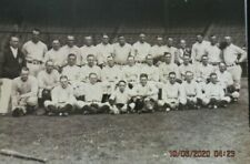 "RARE VINTAGE NEW YORK YANKEES  1926 11"" x 14"" TEAM PHOTO EXCELLENT CONDITION"