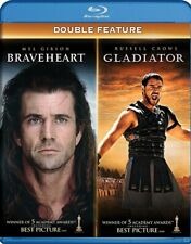 Braveheart + Gladiator New Sealed Blu-ray Double Feature