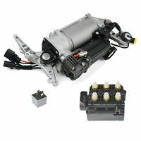 Luftfederung Kompressor + Ventil + Relais VW Touareg Porsche Cayenne 7L0698007