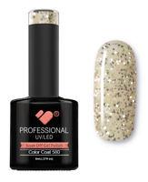 580 VB™ Line Transparent Silver Glitter - UV/LED soak off gel nail polish