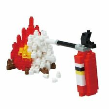 NANOBLOCK FIRE EXTINGUISHER MINI BRICKS PUZZLE NANOBLOCK NBC_242 180 PIECES