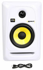"KRK RP5G3W Rokit White 5"" Active Powered Studio Monitor Speaker"