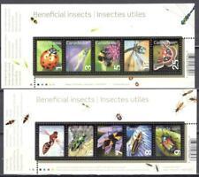 Beneficial Insects, , 2  souvenir sheets MNH.................B1-JN23-032
