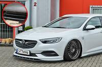 Spoilerschwert Frontspoiler aus ABS Opel Insignia B OPC Line ABE schwarz glanz