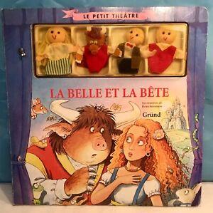 The Petit Theatre: La Belle & Beast, Illustrations Of Peter Stevenson Ed.grund