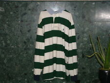 Pre-Owned  XLT Tall Polo Green & White Polo Color Shirt